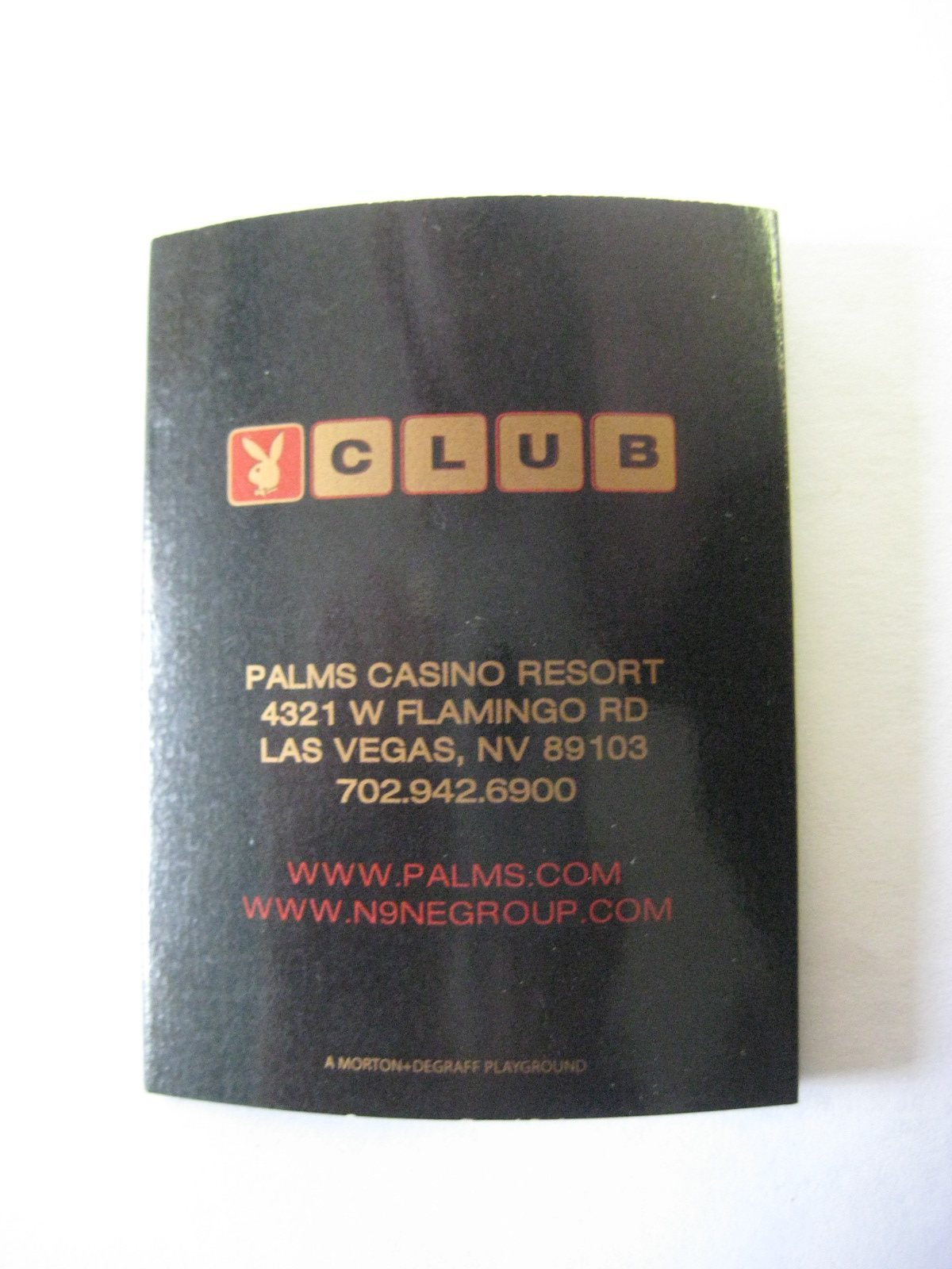 Las Vegas Playboy Club Matches