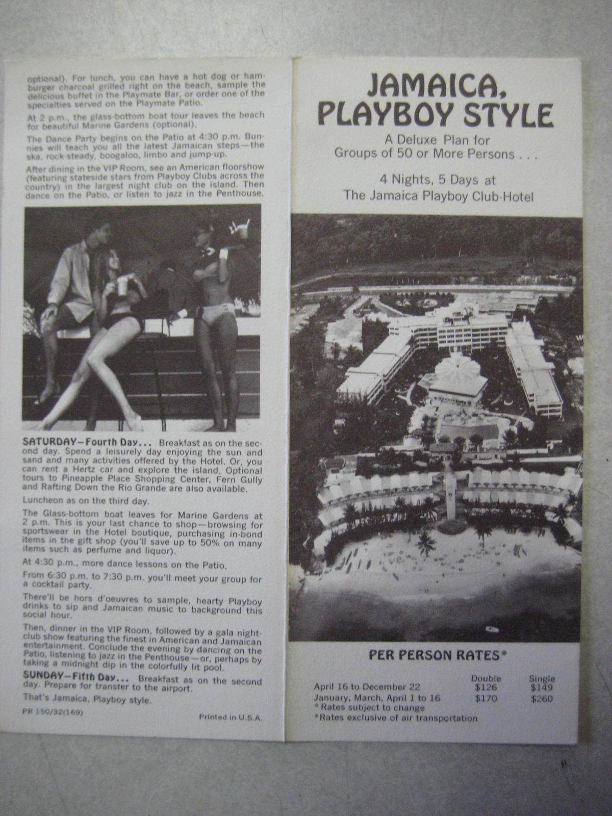 Playboy Club Hotel Jamaica Rates