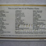 1st Playboy Club Plastic Card