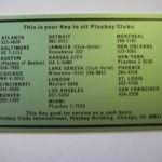 Blank Green Playboy Club Cash Card