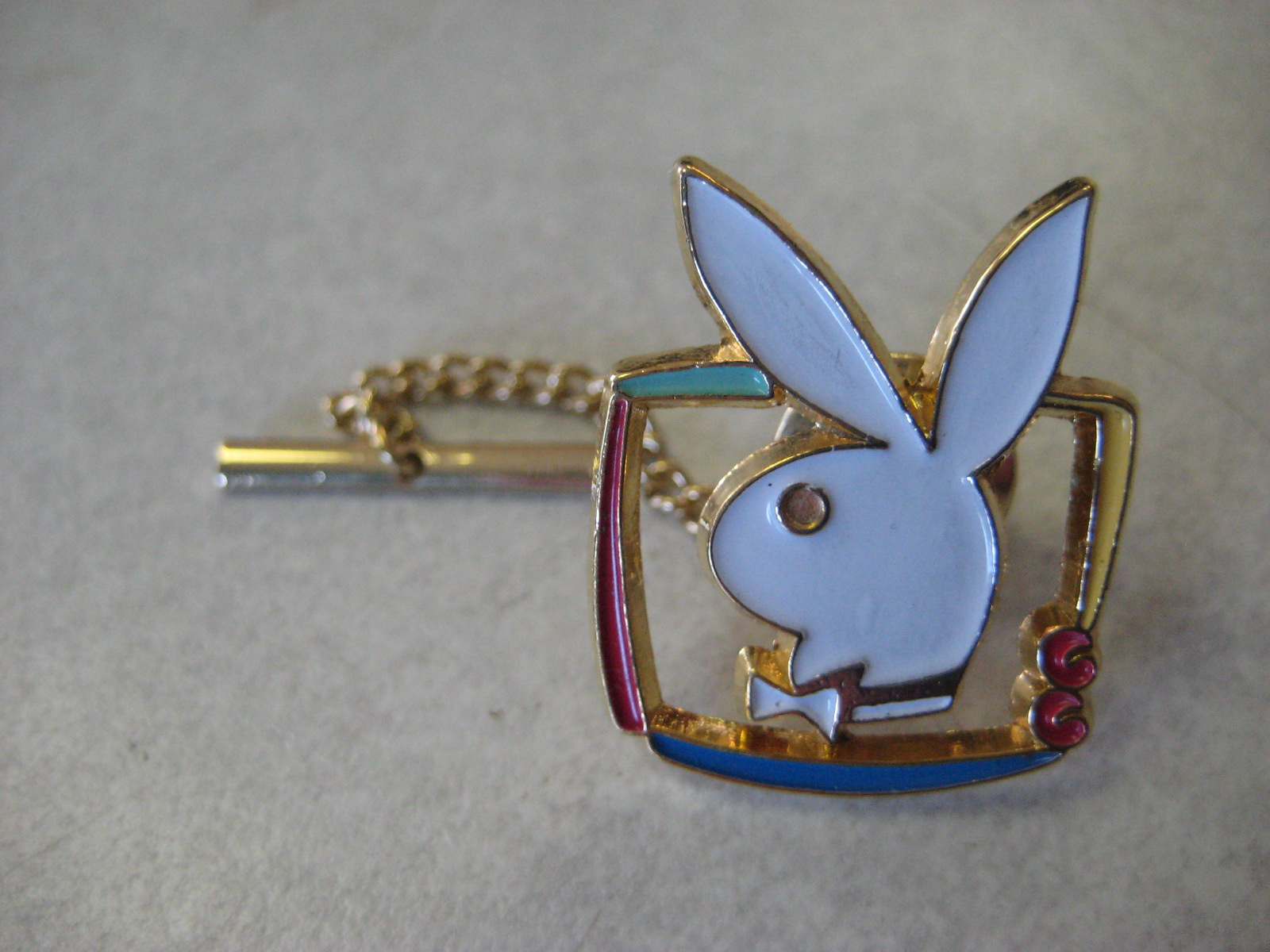 Playboy TV Tie Tac