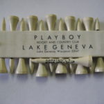 Playboy club hotel resort Lake Geneva Golf Tee holder Femlin