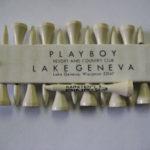 Playboy club hotel resort Lake Geneva Golf Tee holder Femlin