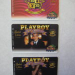 Las Vegas Playboy Palms Casino Slot Cards