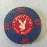 Playboy Club London 5 Pound Greek Key