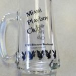 Miami Playboy Club Clear Mug