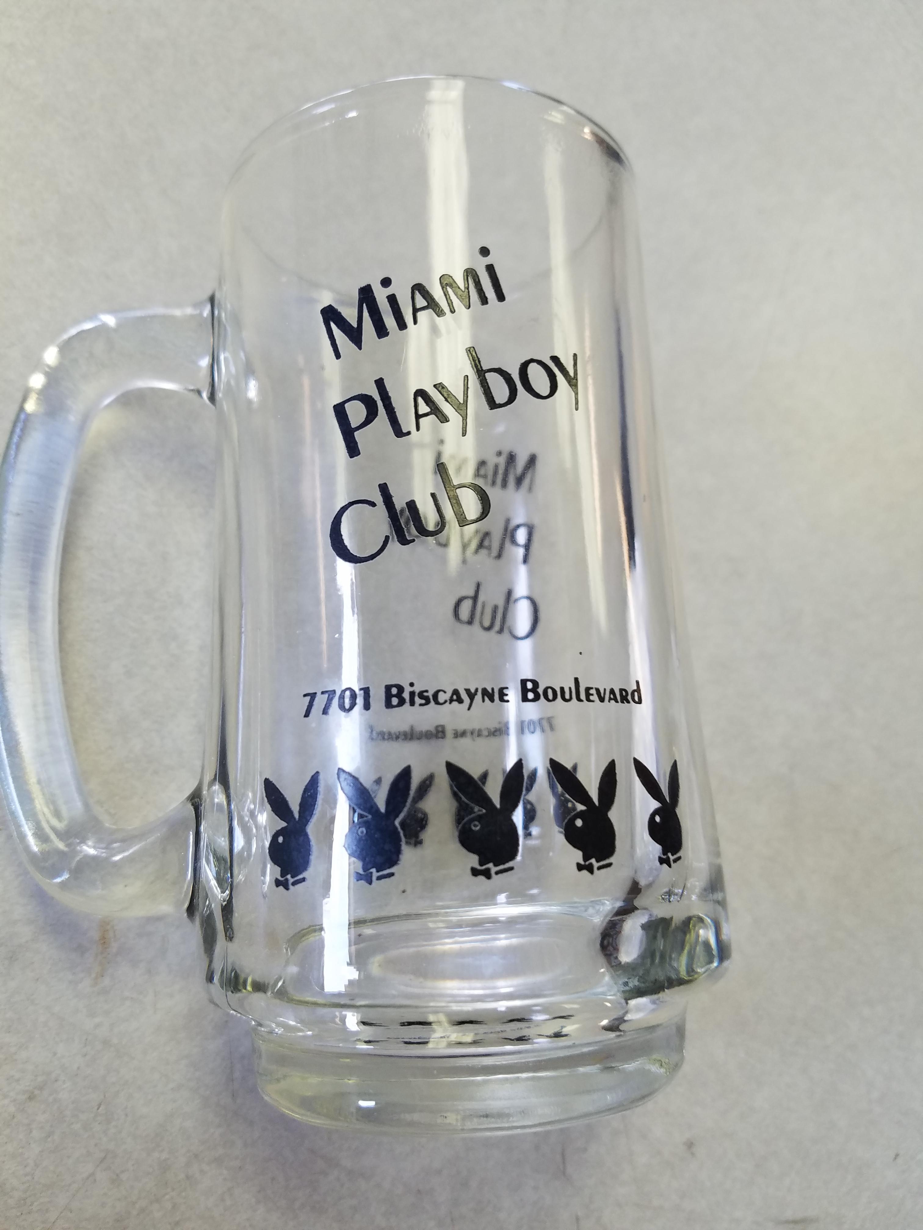 Miami Playboy Club Clear Mug