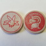 Osaka Playboy Club Red Wooden Nickel