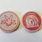 Miami Playboy Club Red wooden Nickel