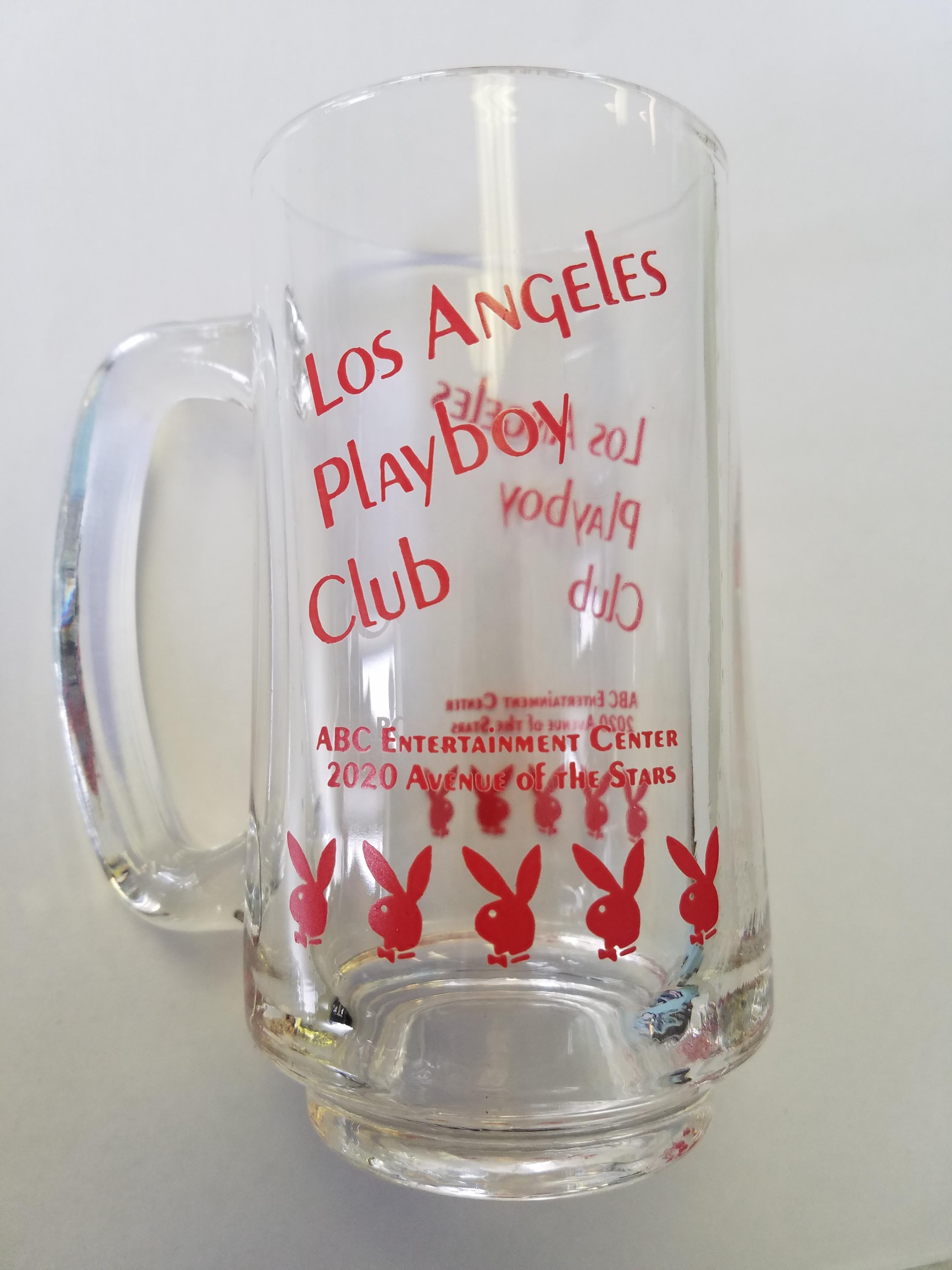 LA Los Angeles Playboy Club Red Mug