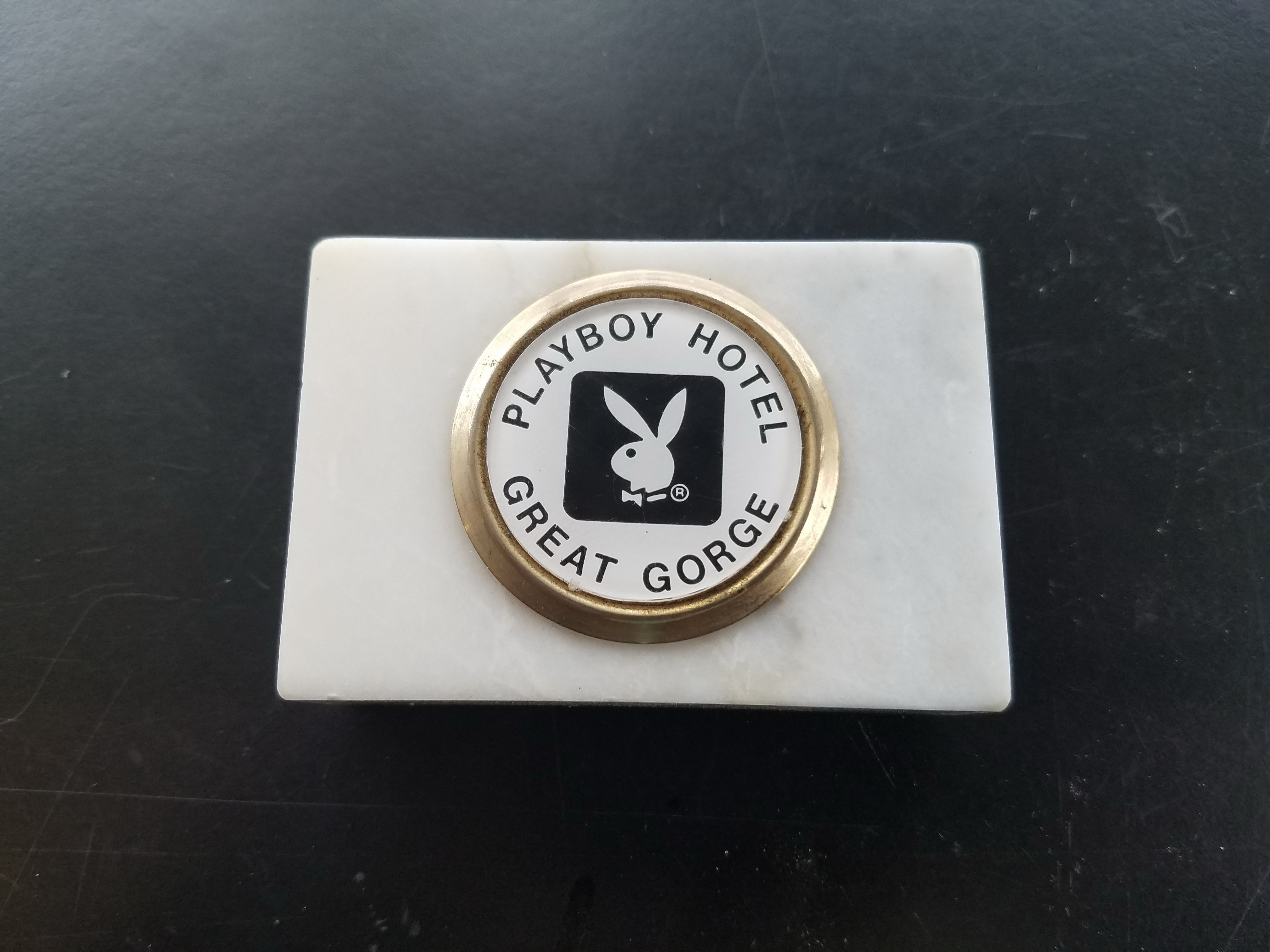 Playboy Club Hotel Great Gorge Paper Weight