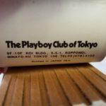Playboy Of Tokyo Matchbook
