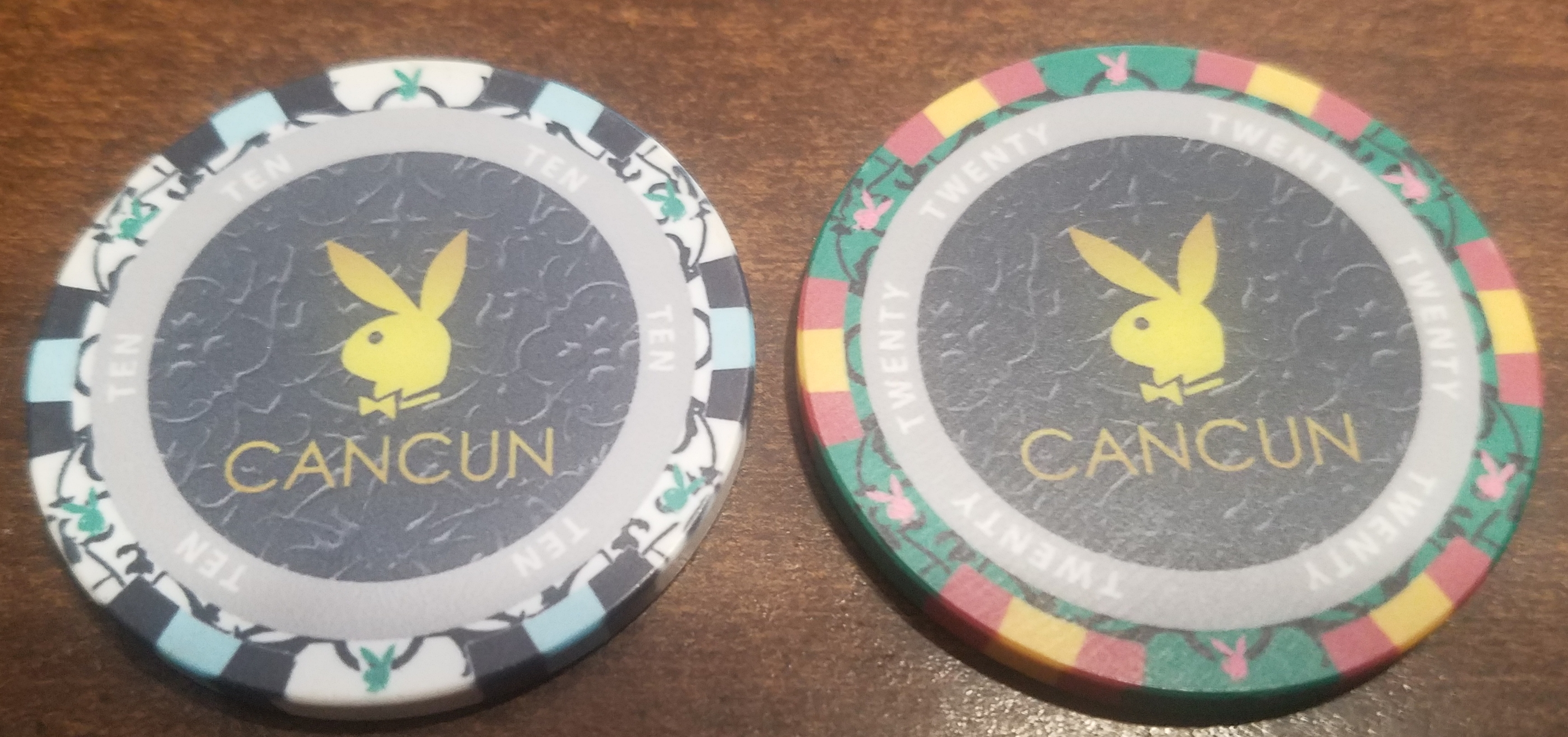 Playboy club Cancun Mexico CASINO CHIP